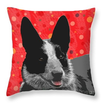 I Am All Ears Throw Pillow by Nola Lee Kelsey