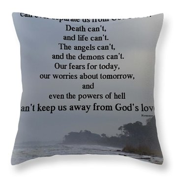 I Am Convinced Throw Pillow