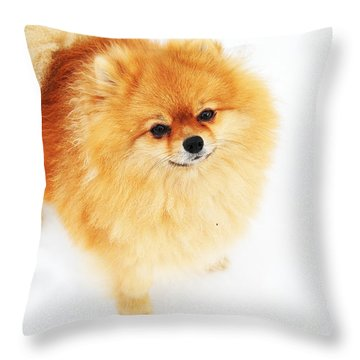 I Am Here I Throw Pillow