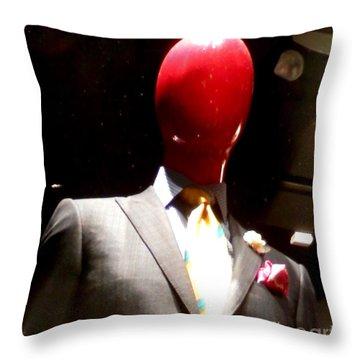 I Am The Man Throw Pillow