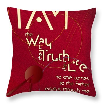 I Am The Way Throw Pillow