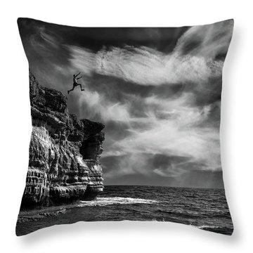 Cliffs Throw Pillows