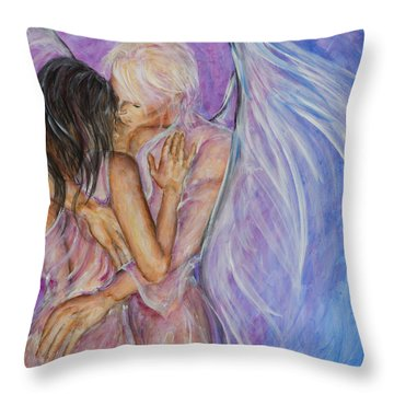 I Believed In You Throw Pillow by Nik Helbig