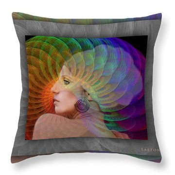 We Can And We Will Throw Pillow