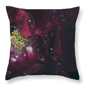 I Can Feel Your Heart Beating Throw Pillow by Laurie Search