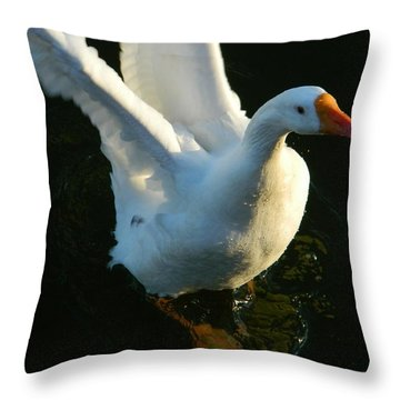 Throw Pillow featuring the photograph I Can Fly by Emmy Marie Vickers