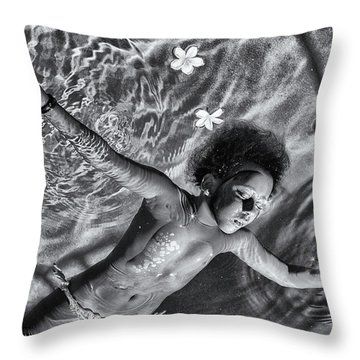 Flower Child Throw Pillows