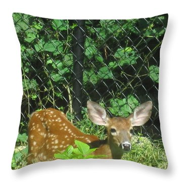 I Can Hear You Throw Pillow