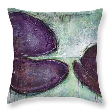 I Can See Home In Your Eyes Poppies Throw Pillow