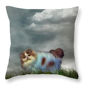 I Cant Help Being Beautiful Throw Pillow