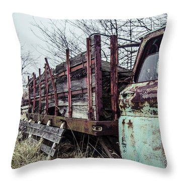 I Carried My Weight  Throw Pillow by Off The Beaten Path Photography - Andrew Alexander