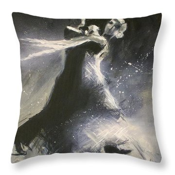 I Could Have Danced All Night Throw Pillow