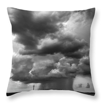 I Don't Know Where I'm Going Throw Pillow