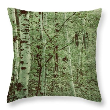 Dreams Of A Forest Throw Pillow