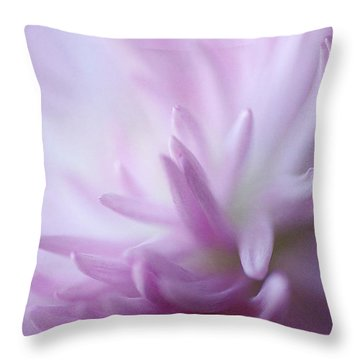 I Dream Of Dahlia Throw Pillow