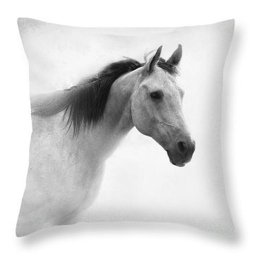 I Dream Of Horses Throw Pillow