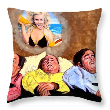 I Dream Of Jenny Throw Pillow by Tom Roderick