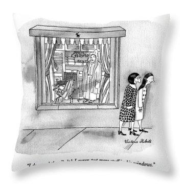I Dreamed That Ralph Lauren Put More Stuff Throw Pillow