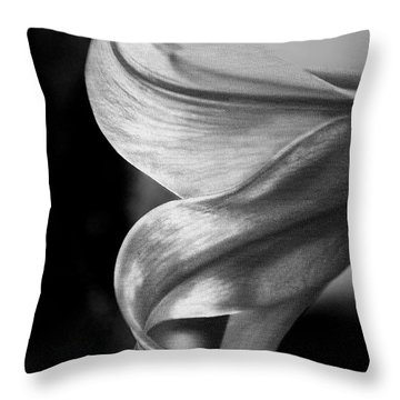 I Dreamt Of Lily Throw Pillow by Sandi Mikuse