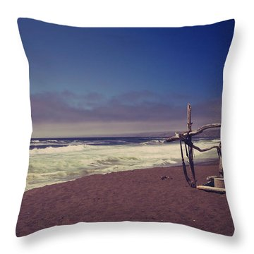 I Feel You Slipping Away Throw Pillow by Laurie Search
