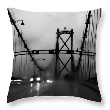 I Fell Wondering Throw Pillow