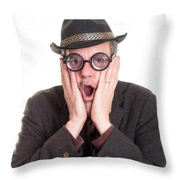 I Forgot Your Birthday Throw Pillow by Edward Fielding