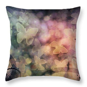 I Have A Dream Throw Pillows