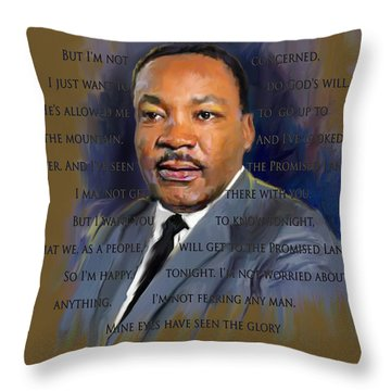 I Have Been To The Mountain Throw Pillow