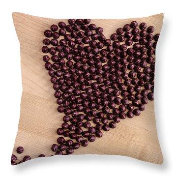 I Heart Chocolate Throw Pillow