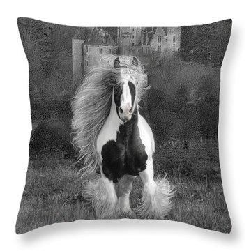 I Hope You're In A Beautiful Place Throw Pillow by Fran J Scott