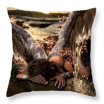 I Know The Sadness You Bear Throw Pillow