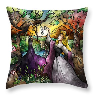 I Know You Throw Pillow