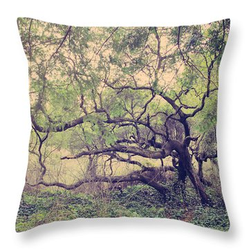 I Know You're Lonely Throw Pillow by Laurie Search