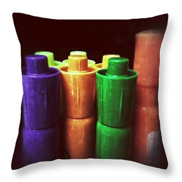 I Like The Colors. #wraystagram Throw Pillow