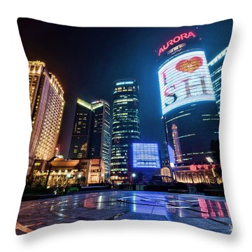 I Love Sh Throw Pillow