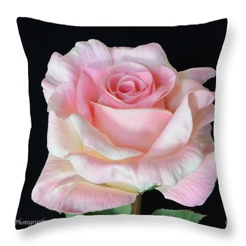 Throw Pillow featuring the photograph I Love Us by Jeannie Rhode