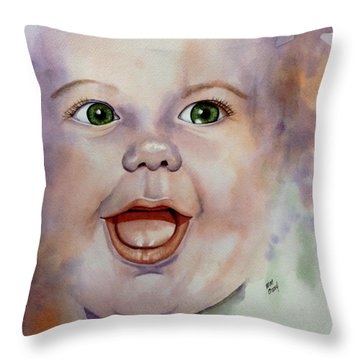 I Love You Baby Throw Pillow