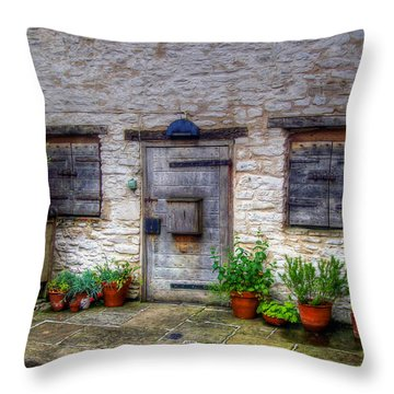 Throw Pillow featuring the photograph I Miss Home by Doc Braham