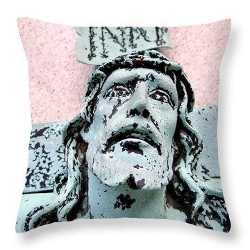 I N R E  Throw Pillow by Ed Weidman
