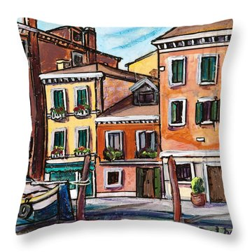 I Parked Out Front Throw Pillow