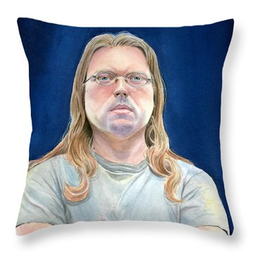 I Refuse To Have Fun Throw Pillow