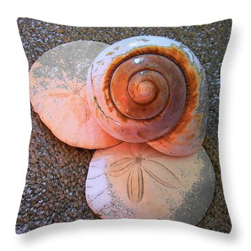 I Sea Art Throw Pillow