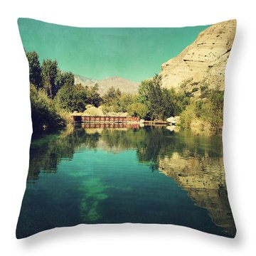 I See Right Through Throw Pillow by Laurie Search