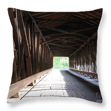 I See The Light Throw Pillow by Michael Krek