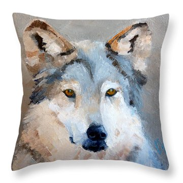I See You Throw Pillow by Susan Woodward