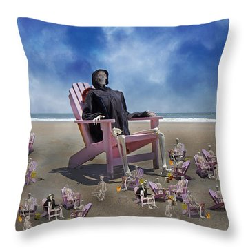 I Still Know What You Did Last Summer Throw Pillow