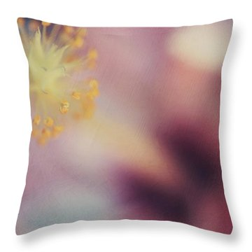 Hawaiian Flower Throw Pillows