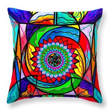 I Trust Myself To Create Throw Pillow