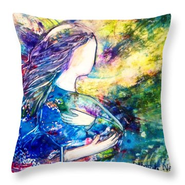I Wait Throw Pillow