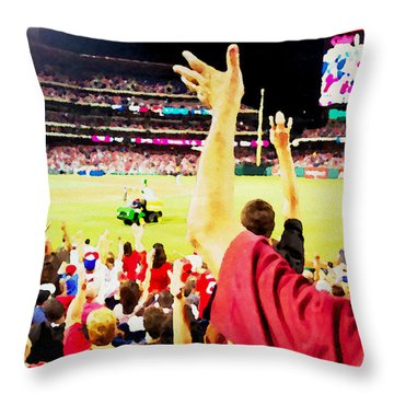 I Want One Throw Pillow by Alice Gipson